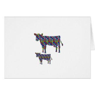 牛乳の動物の国内点のnavinJOSHI NVN91のおもしろい カード