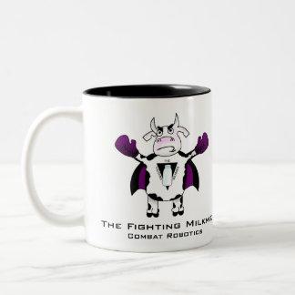 牛乳配達人のマグ ツートーンマグカップ