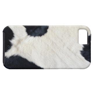 牛体の毛皮の皮の箱カバー iPhone SE/5/5s ケース