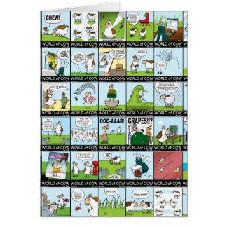 牛壁紙の世界 カード