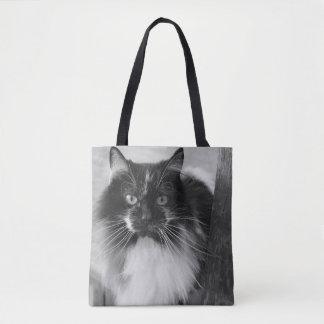 牛子猫 トートバッグ