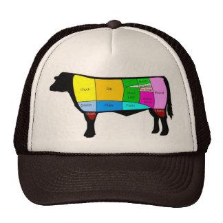 牛帽子 トラッカーキャップ
