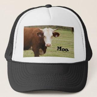 """牛帽子: """"Moo。"""" キャップ"""