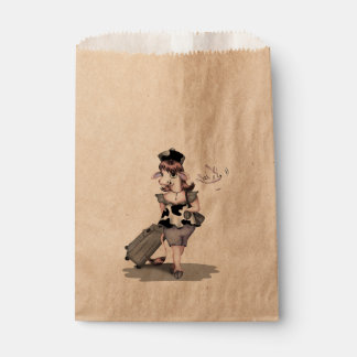 牛旅行バッグのクラフトの好意 フェイバーバッグ