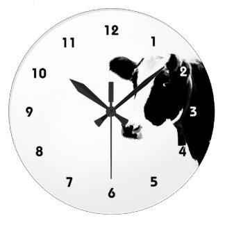 牛時間 ラージ壁時計