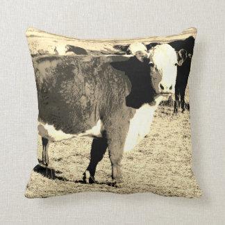 牛枕オリジナルの芸術 クッション