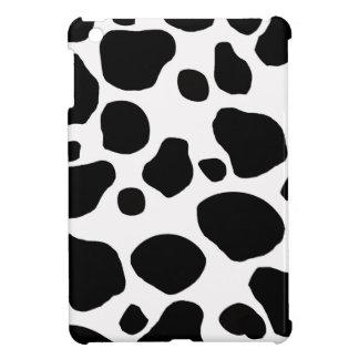 牛毛皮の皮の皮のかわいい自然動物パターン iPad MINIケース