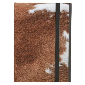 牛毛皮のPowisのiCaseのiPadの場合 iPad Airケース