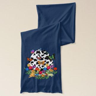 牛皮のイースターエッグ スカーフ