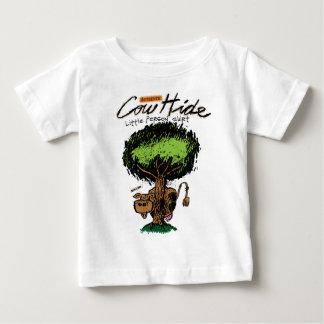 牛皮の乳児のTシャツ ベビーTシャツ
