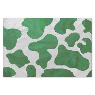牛緑および白写真 薄葉紙
