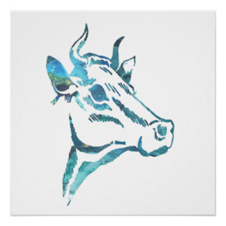 牛芸術 ポスター