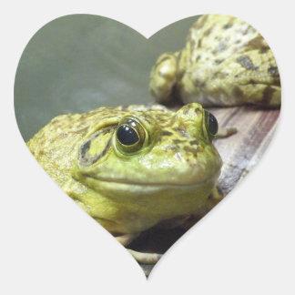 牛蛙 ハートシール
