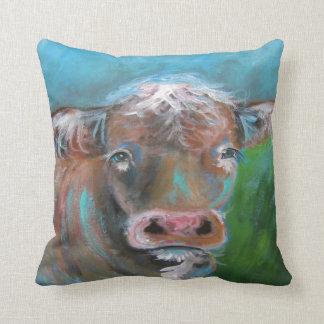 牛装飾用クッション クッション