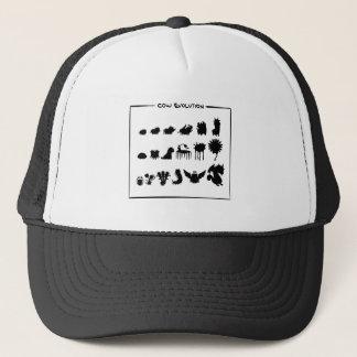 牛進化のデザインの服装 キャップ