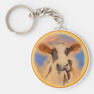 牛顔のキーホルダー キーホルダー
