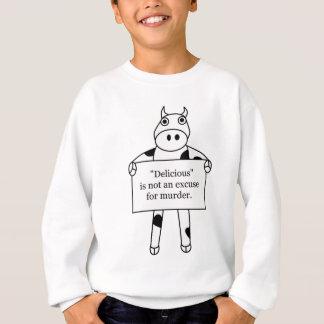 牛:  おいしい…ありません スウェットシャツ