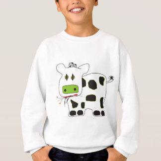 牛 スウェットシャツ