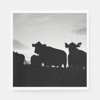 牛 スタンダードランチョンナプキン