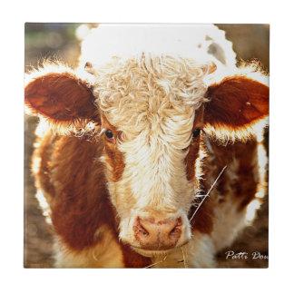 牛 タイル