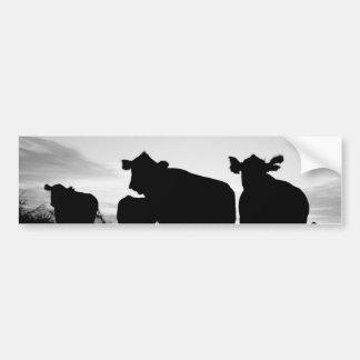 牛 バンパーステッカー