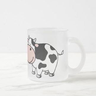 牛 フロストグラスマグカップ