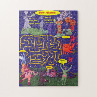牛Mazing!  月ネズミの必要性のクラッカー ジグソーパズル