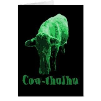 牛thulhu カード