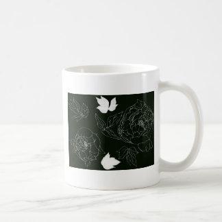 牡丹 コーヒーマグカップ