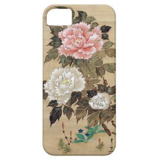 牡丹、其一のシャクヤク、Kiitsuの日本芸術 iPhone SE/5/5s ケース