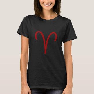 牡羊座の印の(占星術の)十二宮図のCosplayのTシャツ Tシャツ