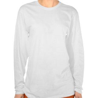 牡羊座の女性長袖のTシャツ Tシャツ