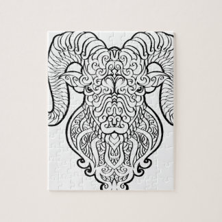 牡羊座の芸術 ジグソーパズル
