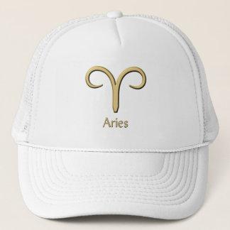牡羊座の金ゴールドの記号の帽子 キャップ