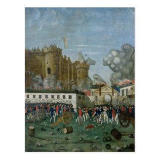 牢獄の刑務所、1789年7月14日 ポストカード