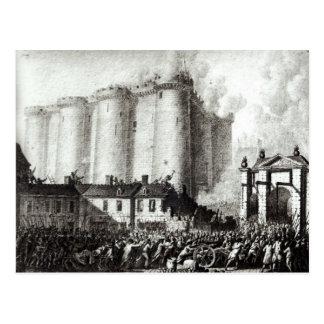 牢獄の包囲、1789年7月14日 ポストカード