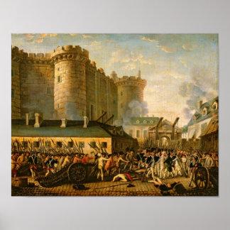 牢獄の取得、1789年7月14日 ポスター