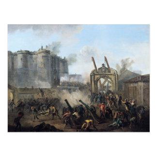 牢獄の取得、1789年7月14日 ポストカード