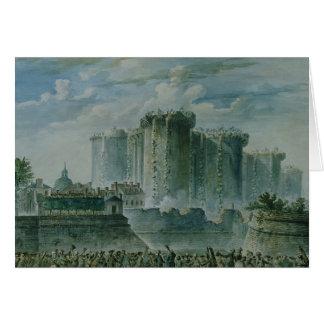 牢獄の破壊、1789年7月14日 カード