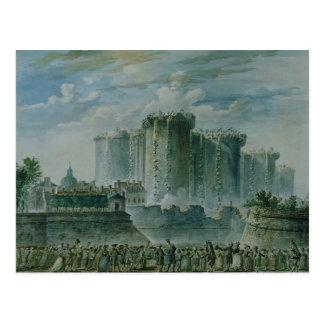 牢獄の破壊、1789年7月14日 ポストカード