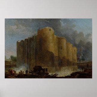 牢獄の破壊、1789年 ポスター