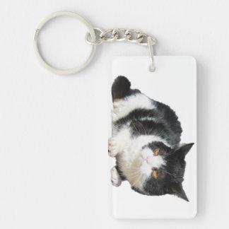 牢獄猫のキーホルダー キーホルダー