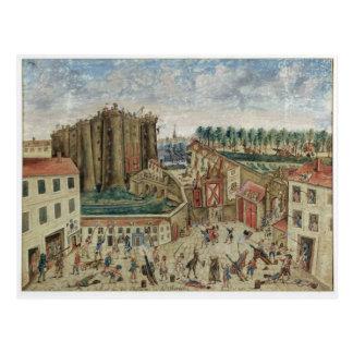 牢獄1789年の包囲 ポストカード