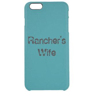 牧場主の妻の電話箱 クリア iPhone 6 PLUSケース
