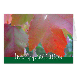 牧師の感謝カード カード