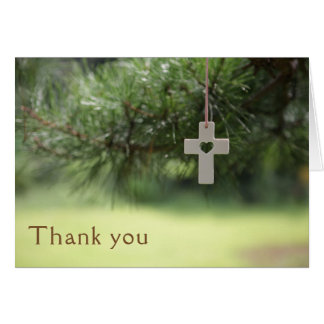 牧師の感謝 カード