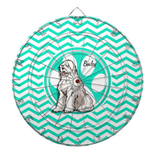 牧羊犬; 水緑のシェブロン ダーツボード