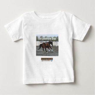 牧草地のバー ベビーTシャツ