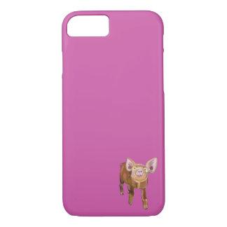 牧草地のブタiPhone/iPad/Samsung/Motorollaの業績 iPhone 8/7ケース