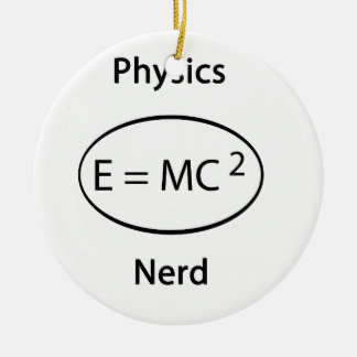 物理学のおたく セラミックオーナメント